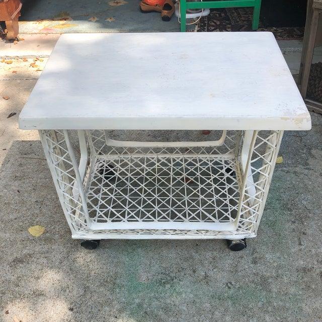 Russell Woodard Russell Woodard Outdoor Bar Cart For Sale - Image 4 of 4