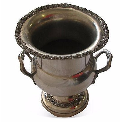 Embossed Sheridan Silver Champagne / Ice Bucket - Image 1 of 3