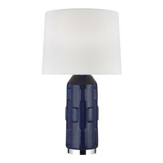 Morada Medium Table Lamp Indigo For Sale