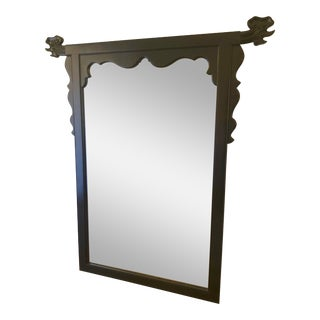 Lacquered Chinoiserie Style Mirror by Century Furniture For Sale