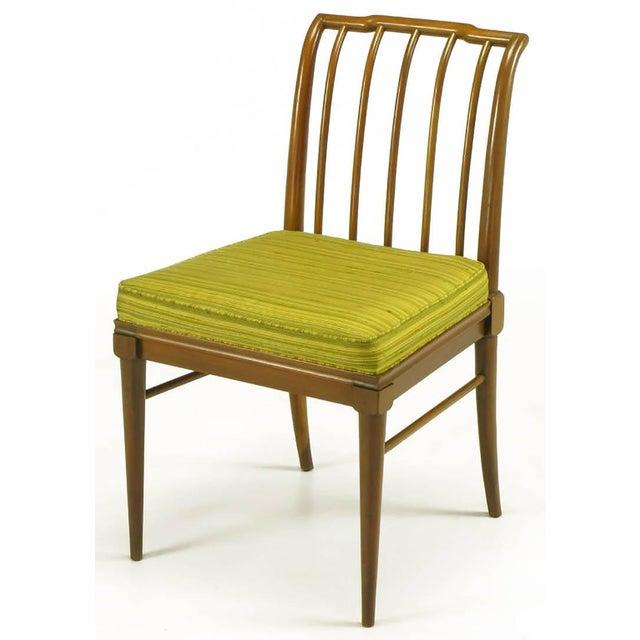 Mid-Century Modern Six J. Stuart Clingman Dining Chairs by John Widdicomb For Sale - Image 3 of 11
