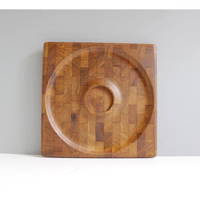 Kalmar Danish Modern Teak Serving Tray Platter - Image 3 of 5