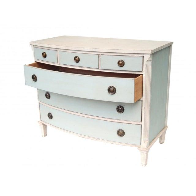 Swedish Blue and White Dresser - Image 4 of 10