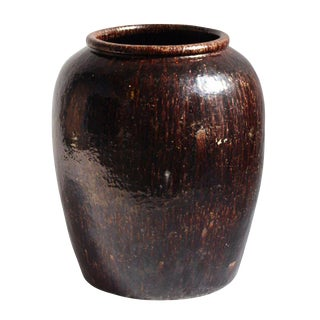 Vintage Espresso Ceramic Pot For Sale