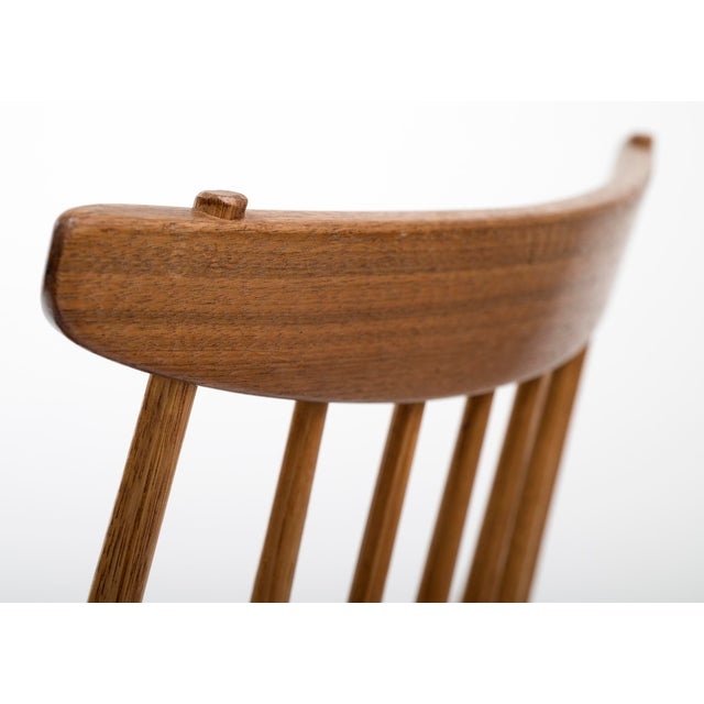 Set of Six Early George Nakashima New Chairs, United States, 1958 For Sale - Image 11 of 13
