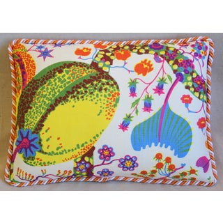 "Designer Josef Frank Floral Brazil Feather/Down Pillow 23"" X 17"" Preview"