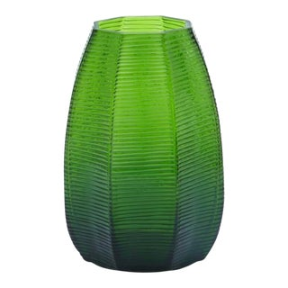 Bungalow 5 Delaunay Green Glass Vase For Sale