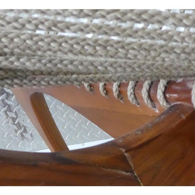 Mid Century Modern Danish Modern Jorgen Hovelskov Harp Chair For Sale - Image 9 of 10