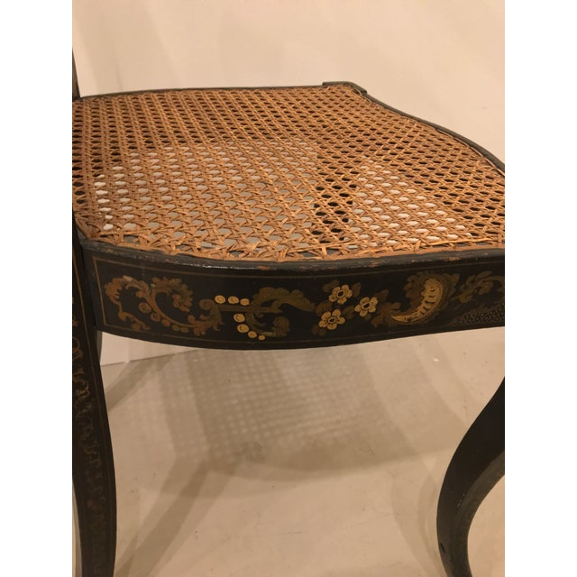 Pair of French Chinoisere Chairs For Sale In Charleston - Image 6 of 10