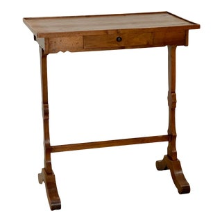 19th Century Italian Fruit Wood Work Table For Sale