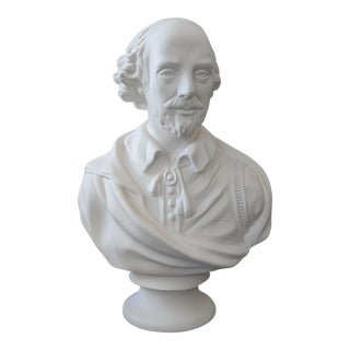 Mid-Century Modern William Shakespeare Bust For Sale