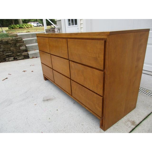 Leslie Diamond For Conant Ball Nine Drawer Dresser For Sale - Image 5 of 10