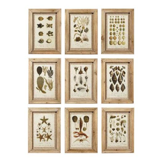 Framed Antibes Prints - Set of 9 For Sale