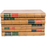 Image of Faux Stack of Books Trunk 'Coffee Table' For Sale