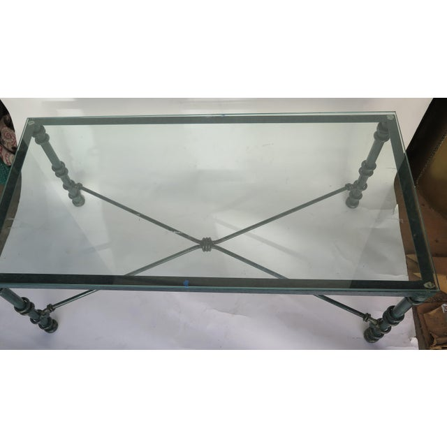 Diego Giacometti Diego Giacometti Style Iron Coffee Table For Sale - Image 4 of 6