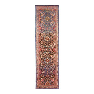 1940s Persian Runner Rug Sultanabad Design For Sale