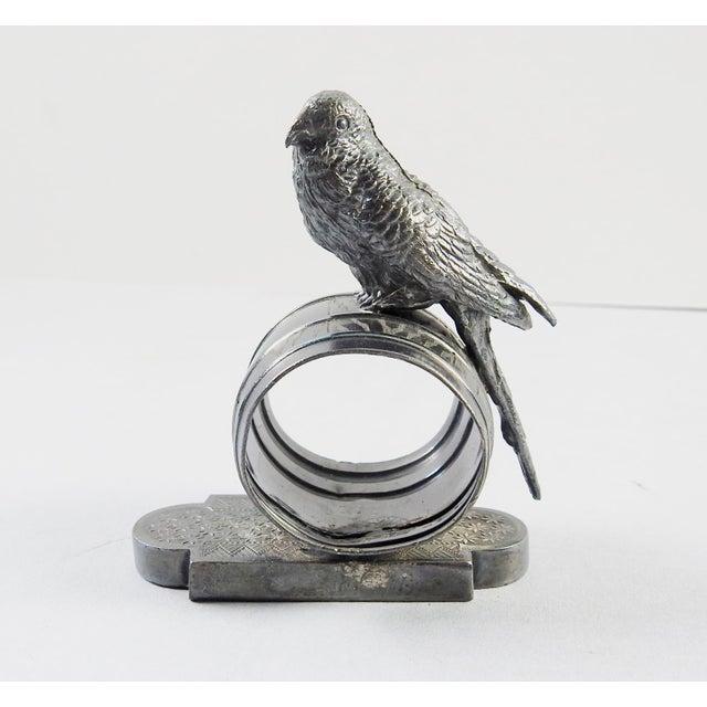 Figural Parakeet Napkin Ring - Image 2 of 7