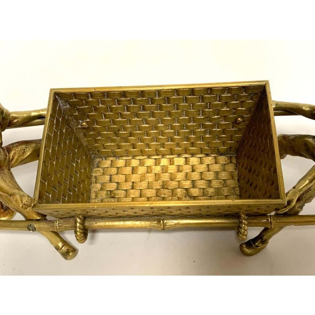 Chinoiserie 19th Century French Chinoiserie Ormolu Caddy For Sale - Image 3 of 13