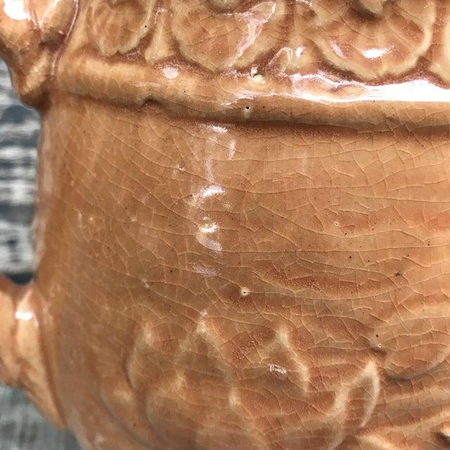 1930's Art Nouveau McCOY Stoneware Pottery Pitcher For Sale - Image 10 of 11