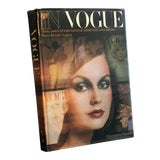 Image of In Vogue: Sixty Years of International Celebrities and Fashion From British Vogue Coffee Table Book For Sale