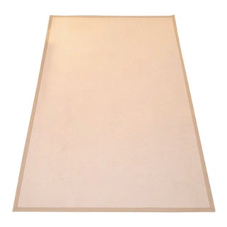 Ethan Allen Wool Area Rug With Canvas Binding - 6′ × 8′12″ For Sale