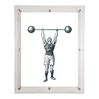 Mitchell Black Home Black Strongman Art For Sale