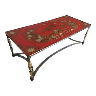 Trouvailles Asian Chinoiserie Cocktail Coffee Table