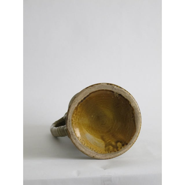 French Green Pitcher W/ Medallions - Image 6 of 6