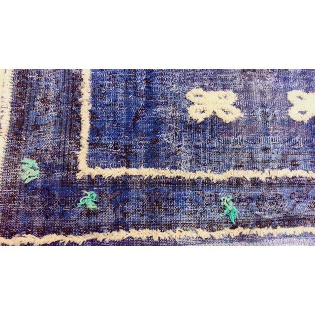 """Turkish Anatolian Oushak Rug -- 5'11"""" x 9'2"""" - Image 4 of 6"""