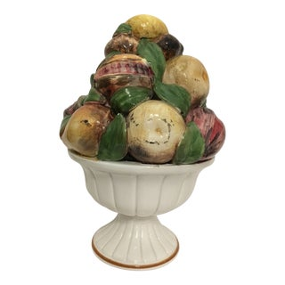 1970s Shabby Chic Italian Fruit Topiary For Sale