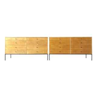 Pair of Paul McCobb 8 Drawer Dressers