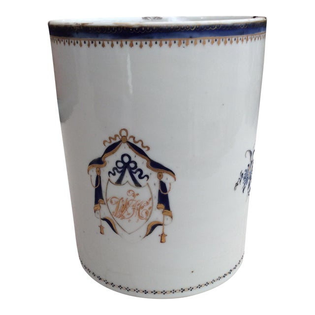 18th Century Chinese Export Tankard For Sale