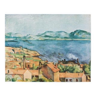 1950s Cezanne, The Bay From l'Estaque First Edition Lithograph For Sale