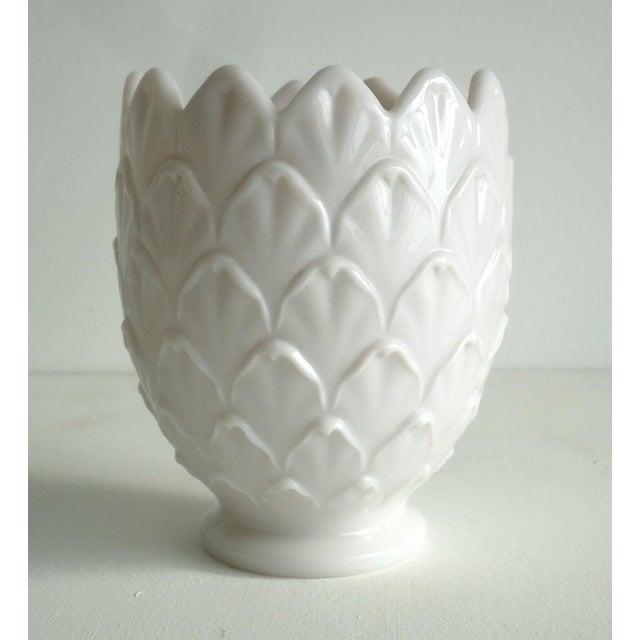 Pale Pink Milkglass Vase - Image 2 of 3