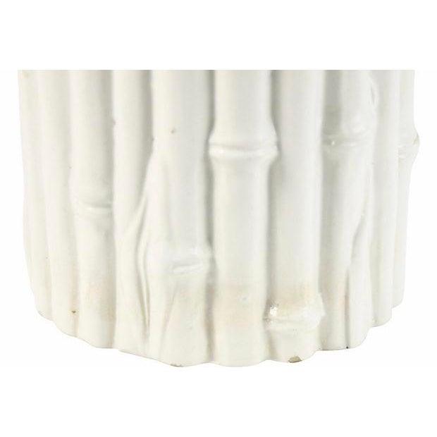 Rosenthal Netter Italian Rosenthal Netter Ivory Bamboo Vase For Sale - Image 4 of 6