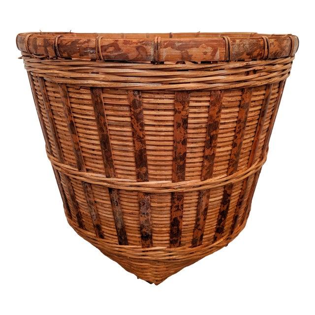 Organic Modern Rattan Planter Basket For Sale