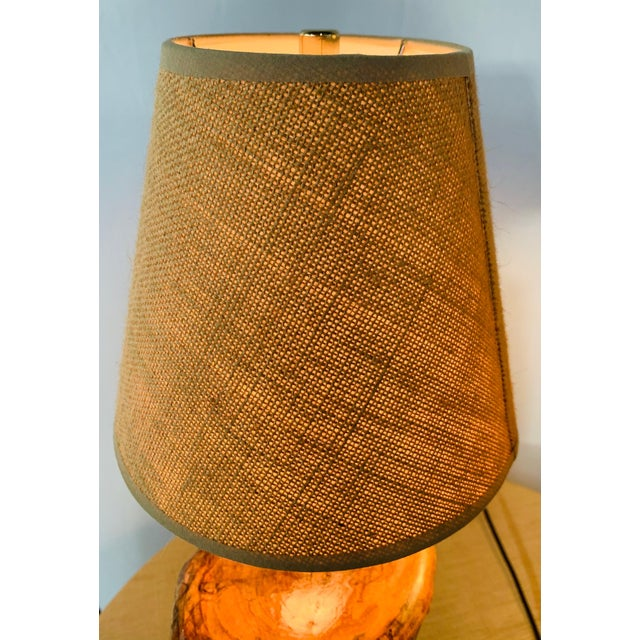 Organic Modern Design Maple Wood Table Lamps, a Pair For Sale - Image 11 of 13