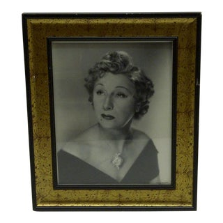 Circa 1930 Vintage Black & White Signed Photograph For Sale