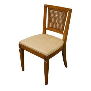 Late 20th Century Vintage RWAY Furniture Maple Colonial Cane Back Dining Chair Preview