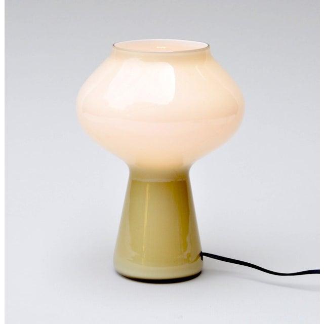 "Venini Pair of ""Fungo"" Table Lamp by Massimo Vignelli for Venini, 1950s For Sale - Image 4 of 6"