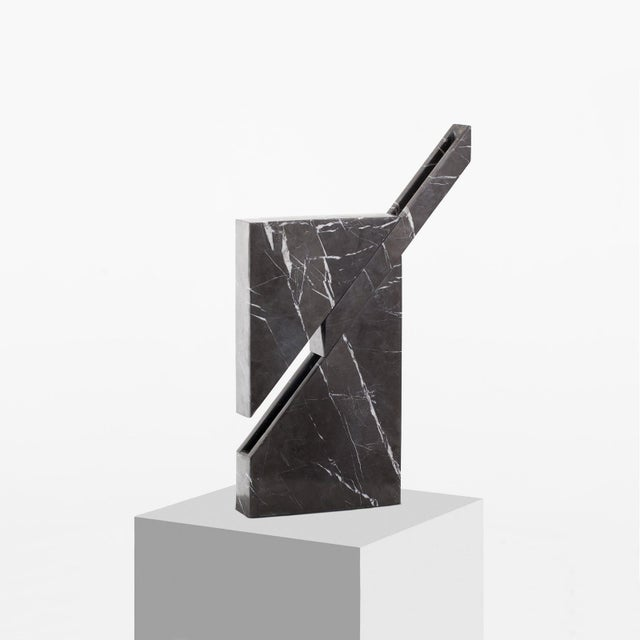 Carlos Aucejo Iceberg Marble Lamp by Carlos Aucejo For Sale - Image 4 of 6