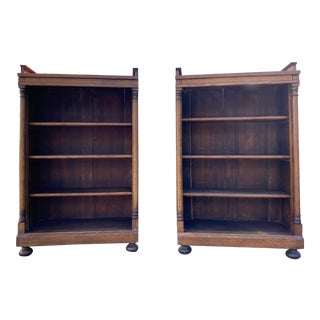 Pair of 19th Century Bookcases For Sale