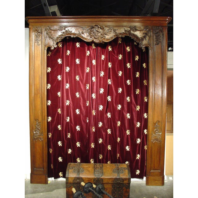 Antique French Boiserie Door Surround from the 1700s For Sale - Image 4 of 11