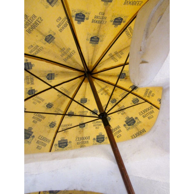 Vintage Boodles Gin Advertising Umbrella - Image 8 of 8