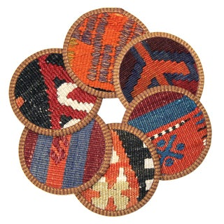 Kilim Edirne Coasters - Set of 6