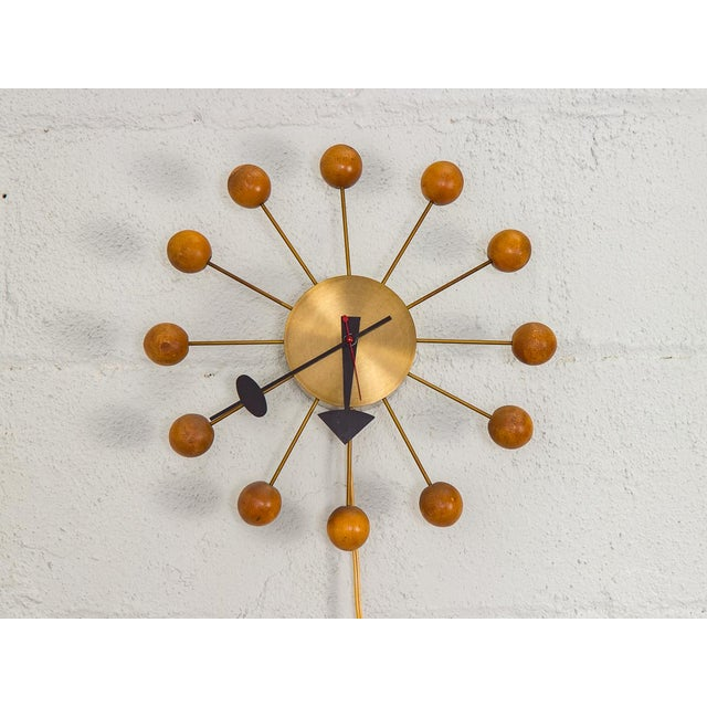 1950s George Nelson for George Nelson Associates Original Ball Clock For Sale - Image 9 of 9