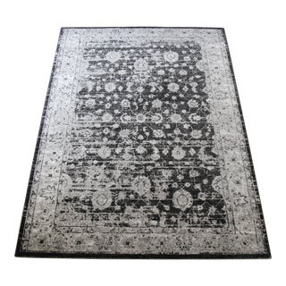 Distressed Vintage Gray Doormat - 1'8''x 2'8''