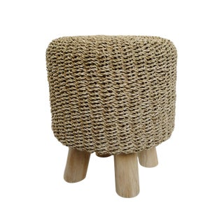 Seagrass Rope Stool For Sale