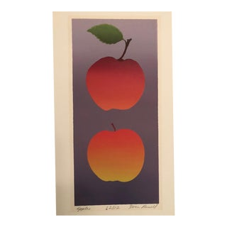 "Mid-Century ""Apples"" Print For Sale"