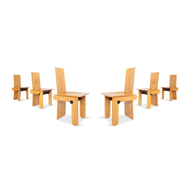 Carlo Scarpa Dining Chairs for Gavina For Sale - Image 9 of 12